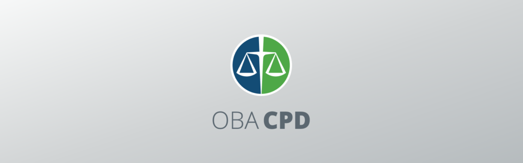 OBA CPD Logo