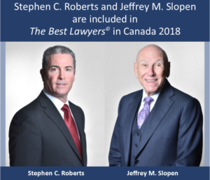 Stephen C. Roberts and Jeffrey M. Slopen